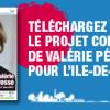 Télécharger le projet de Valérie Pécresse pour l'Ile-de-France