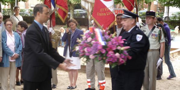 Commémoration de la libération d'Asnières