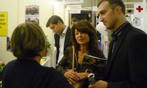 Investiture pour les élections cantonales 2011. Canton Nord d'Asnières.