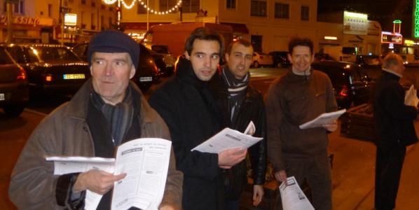 Asnières – Cantonales 2011. Une campagne de proximité.
