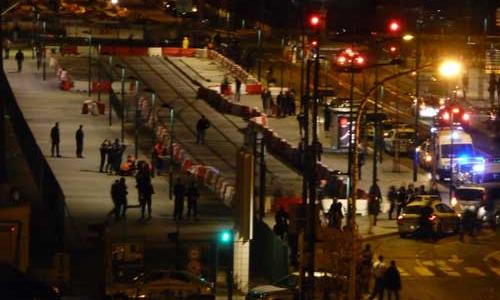 Agression mortelle au niveau de la station les courtilles à Asnières.