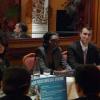 Une campagne de proximité. Café débat avec Rama YADE sur le thème de la jeunesse.