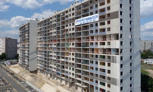 Le bâtiment «Les gentianes», à Asnières, n'existe plus.