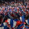 Hier à Villepinte, 70 000 militants survoltés avec NICOLAS SARKOZY.