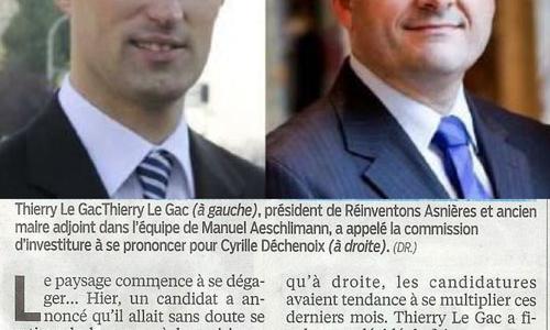 Article de presse. Le Parisien du mercredi 22 mai.