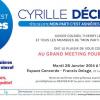 RDV MARDI 28 JANVIER à 19h30 – Grand meeting avec Cyrille Déchenoix et toute l'équipe de Mon PArti, c'est Asnières.