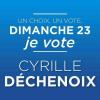 Dimanche, donnons une chance à Asnières avec la liste Mon parti c'est Asnières conduite par Cyrille Déchenoix.