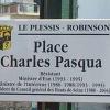 Inauguration de la place Charles PASQUA au plessis Robinson