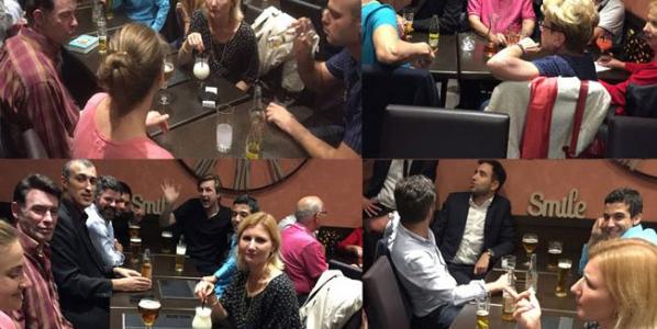 Une soirée avec les membres de l'équipe de Réinventons Asnières.