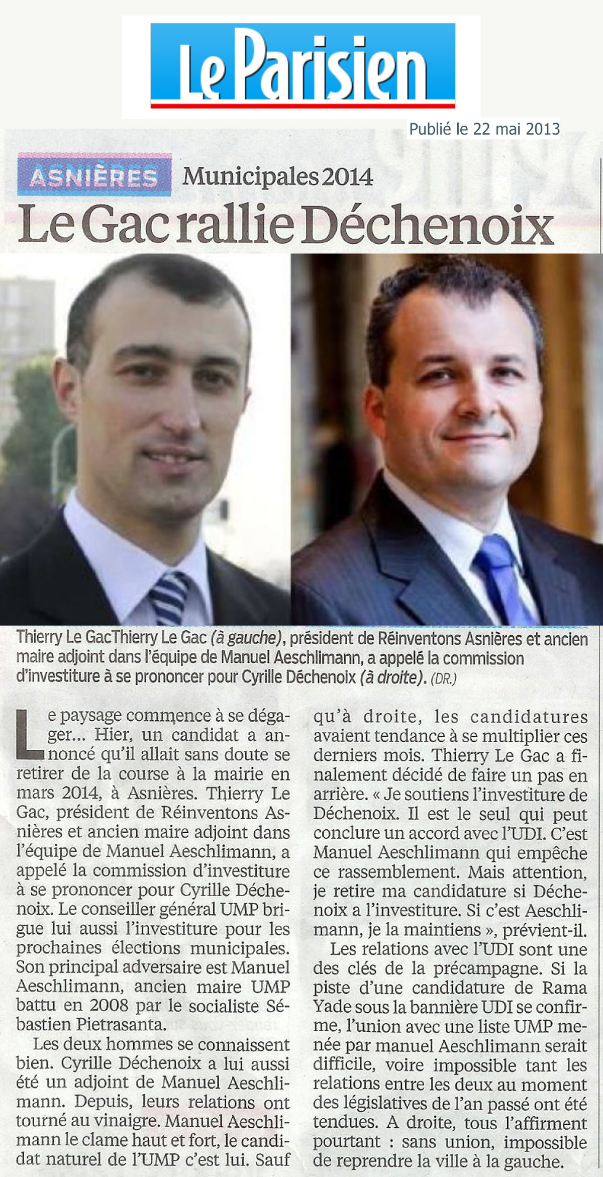 DECHENOIX---LE-GAC-Article-parisien-22-05-2013
